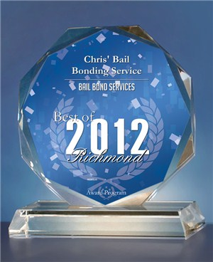 Chris' Bail Bonding Service Receives 2012 Best of Richmond Award